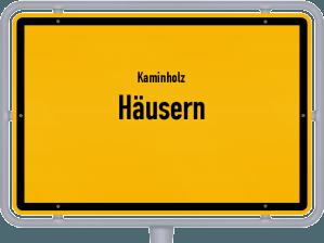 Kaminholz & Brennholz-Angebote in Häusern