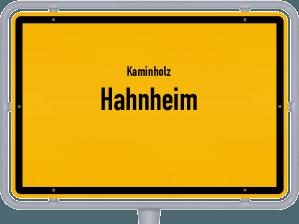 Kaminholz & Brennholz-Angebote in Hahnheim