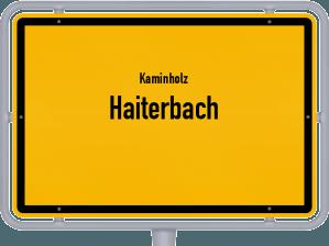 Kaminholz & Brennholz-Angebote in Haiterbach