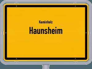 Kaminholz & Brennholz-Angebote in Haunsheim