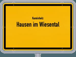 Kaminholz & Brennholz-Angebote in Hausen im Wiesental