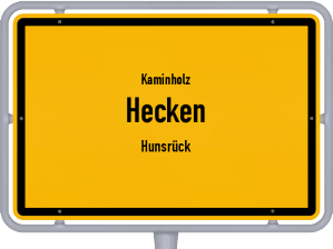 Kaminholz & Brennholz-Angebote in Hecken (Hunsrück)