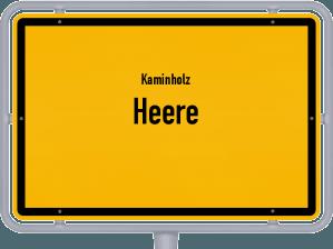 Kaminholz & Brennholz-Angebote in Heere
