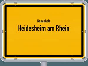 Kaminholz & Brennholz-Angebote in Heidesheim am Rhein