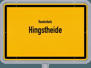 Kaminholz & Brennholz-Angebote in Hingstheide