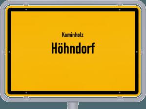 Kaminholz & Brennholz-Angebote in Höhndorf