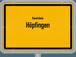 Kaminholz & Brennholz-Angebote in Höpfingen
