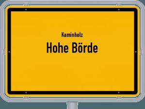 Kaminholz & Brennholz-Angebote in Hohe Börde