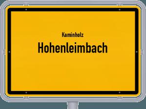Kaminholz & Brennholz-Angebote in Hohenleimbach