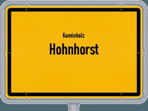 Kaminholz & Brennholz-Angebote in Hohnhorst