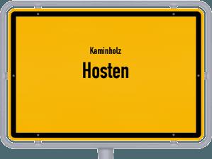 Kaminholz & Brennholz-Angebote in Hosten