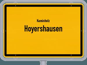 Kaminholz & Brennholz-Angebote in Hoyershausen