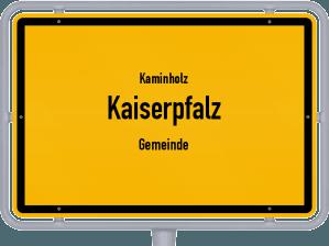 Kaminholz & Brennholz-Angebote in Kaiserpfalz (Gemeinde)