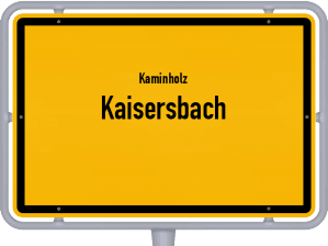 Kaminholz & Brennholz-Angebote in Kaisersbach