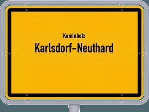 Kaminholz & Brennholz-Angebote in Karlsdorf-Neuthard