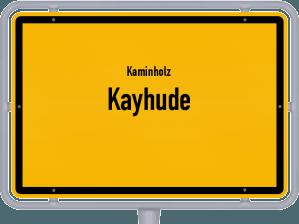 Kaminholz & Brennholz-Angebote in Kayhude