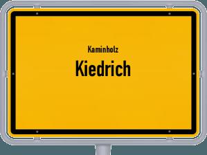 Kaminholz & Brennholz-Angebote in Kiedrich