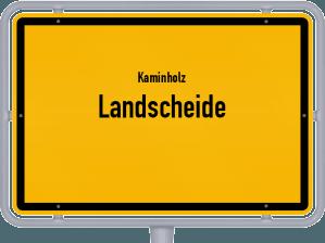 Kaminholz & Brennholz-Angebote in Landscheide