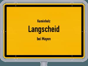 Kaminholz & Brennholz-Angebote in Langscheid (bei Mayen)