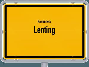 Kaminholz & Brennholz-Angebote in Lenting