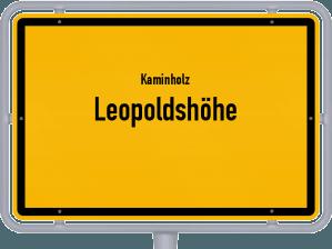 Kaminholz & Brennholz-Angebote in Leopoldshöhe