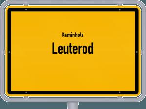 Kaminholz & Brennholz-Angebote in Leuterod