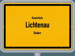 Kaminholz & Brennholz-Angebote in Lichtenau (Baden)