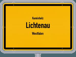 Kaminholz & Brennholz-Angebote in Lichtenau (Westfalen)
