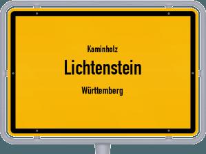 Kaminholz & Brennholz-Angebote in Lichtenstein (Württemberg)