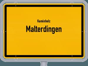 Kaminholz & Brennholz-Angebote in Malterdingen