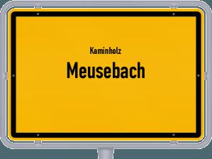 Kaminholz & Brennholz-Angebote in Meusebach
