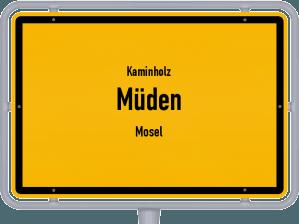 Kaminholz & Brennholz-Angebote in Müden (Mosel)