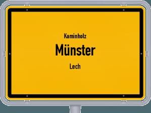 Kaminholz & Brennholz-Angebote in Münster (Lech)