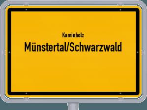 Kaminholz & Brennholz-Angebote in Münstertal/Schwarzwald