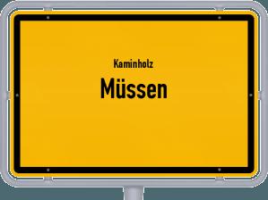 Kaminholz & Brennholz-Angebote in Müssen