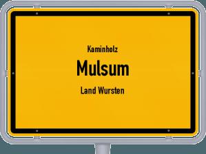 Kaminholz & Brennholz-Angebote in Mulsum (Land Wursten)