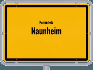 Kaminholz & Brennholz-Angebote in Naunheim
