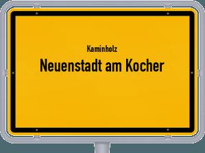 Kaminholz & Brennholz-Angebote in Neuenstadt am Kocher