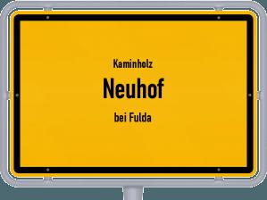 Kaminholz & Brennholz-Angebote in Neuhof (bei Fulda)