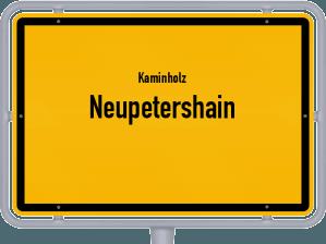 Kaminholz & Brennholz-Angebote in Neupetershain