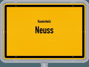 Kaminholz & Brennholz-Angebote in Neuss