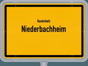 Kaminholz & Brennholz-Angebote in Niederbachheim