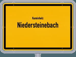 Kaminholz & Brennholz-Angebote in Niedersteinebach