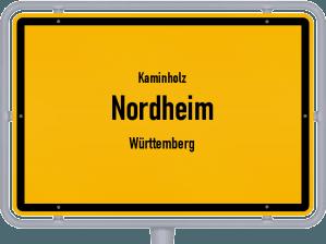 Kaminholz & Brennholz-Angebote in Nordheim (Württemberg)