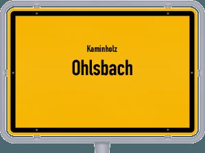Kaminholz & Brennholz-Angebote in Ohlsbach