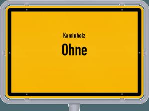 Kaminholz & Brennholz-Angebote in Ohne