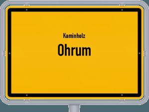 Kaminholz & Brennholz-Angebote in Ohrum