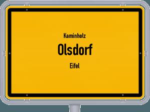 Kaminholz & Brennholz-Angebote in Olsdorf (Eifel)