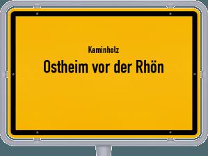 Kaminholz & Brennholz-Angebote in Ostheim vor der Rhön