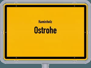 Kaminholz & Brennholz-Angebote in Ostrohe